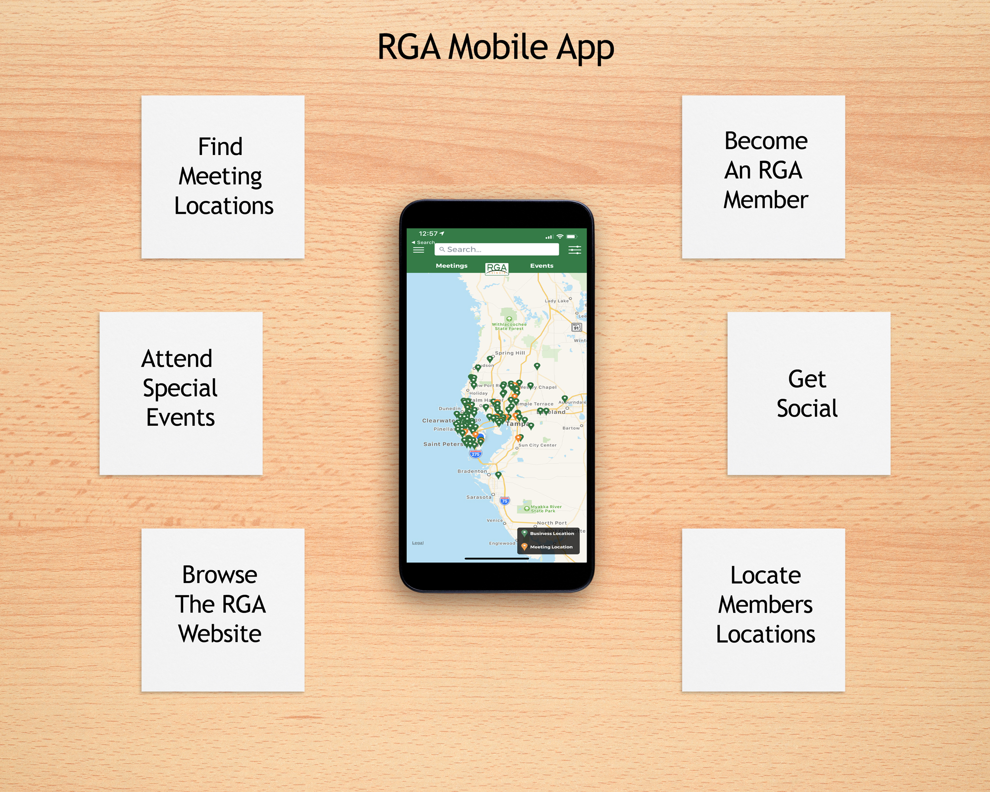 The RGA App | Revenue Generating Activities Network